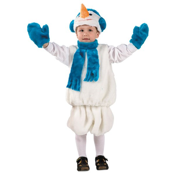 Костюм для мальчика снеговик напрокат