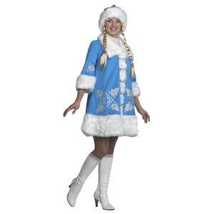 костюм снегурочки напрокат