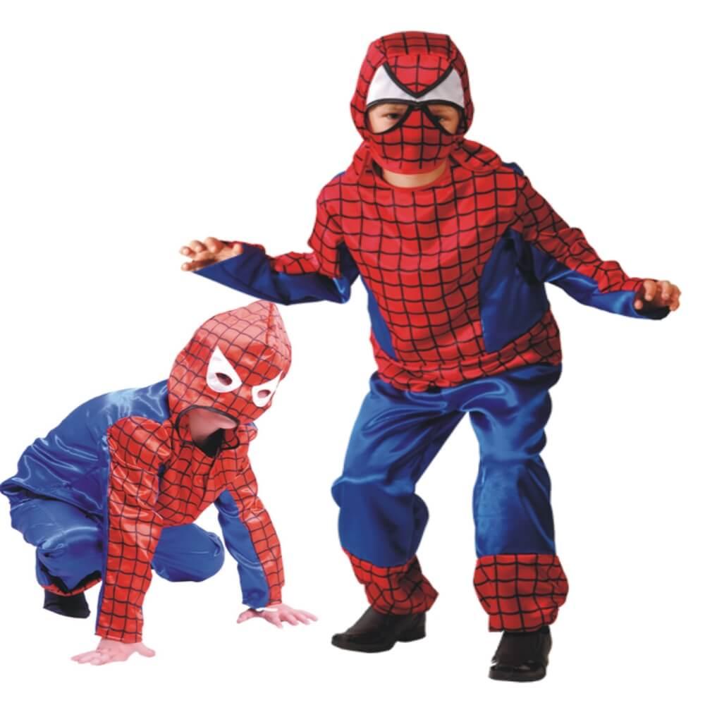 Новогодний костюм для мальчика Человек паук