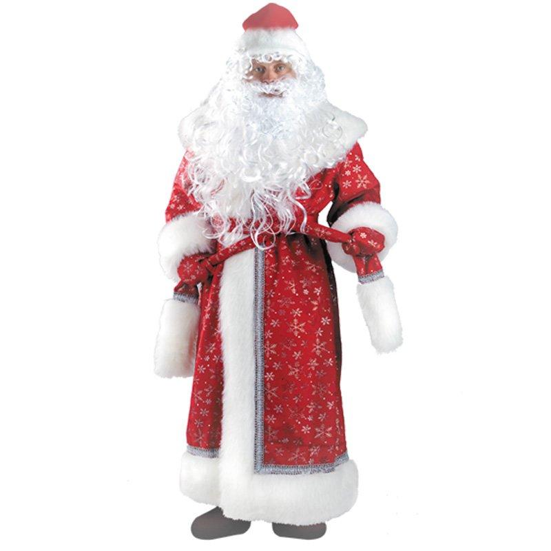 костюм деда мороза напрокат