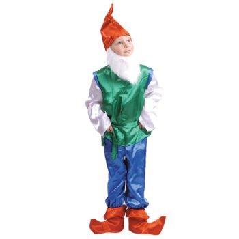 новогодний костюм для мальчика гномик