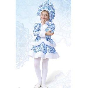 Костюм для девочки Снегурочка