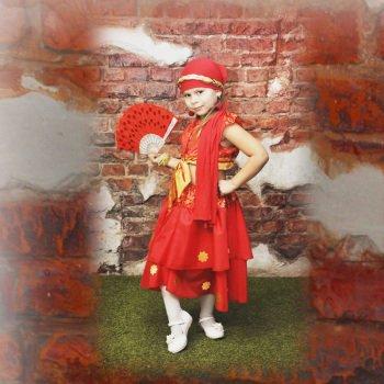 Прокат костюма для девочки цыганочка