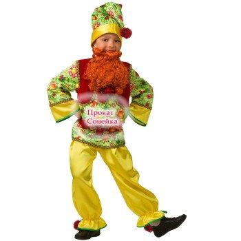 Прокат костюма гномика в Бобруйске