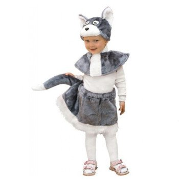 Новогодний костюм Кошка для девочки прокат