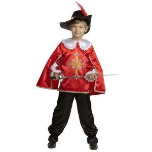 Карнавальный костюм мушкетёра для мальчика напрокат