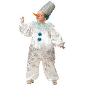 Новогодний костюм напрокат Снеговик