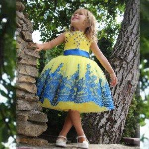 Пышные платья для девочки напрокат