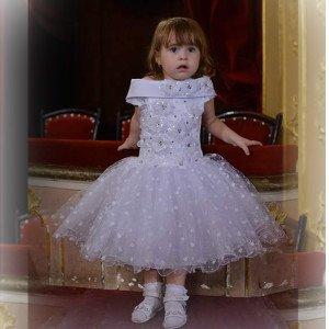 Платье детское на новый год в Бобруйске