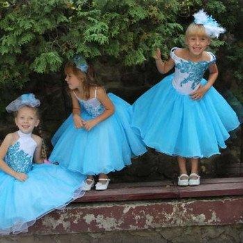 Детсок бальное платье напрокат в Бобруйске
