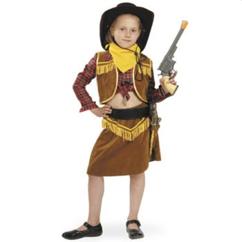 Карнавальный костюм для девочки Ковбойка напрокат