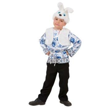 Костюм Зайца для мальчика напрокат