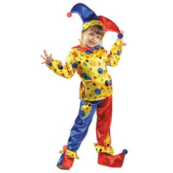 Карнавальный костюм для мальчика петрушка