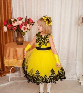 Нарядное платье для девочке напрокат